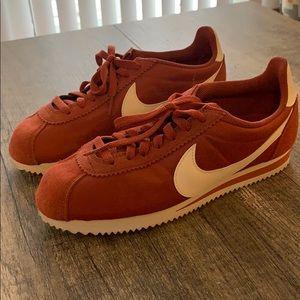 Nike Rust women's Cortez sneakers
